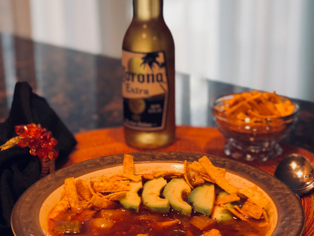 Chicken Torilla Soup - Serve your Mexican cravings!