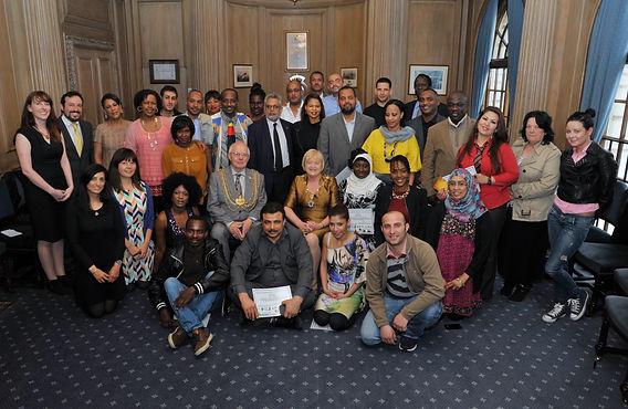 Map Project Leeds, MAP Diplomas Leeds, Civic Hall Volunteers