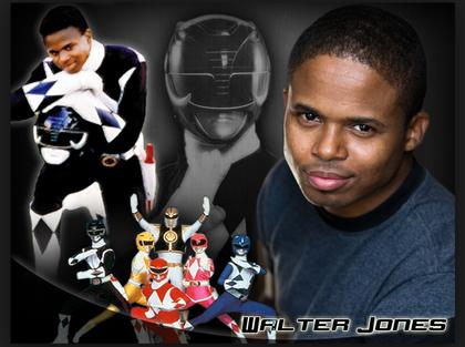 Walter E Jones (Black Ranger )Original Power Rangers