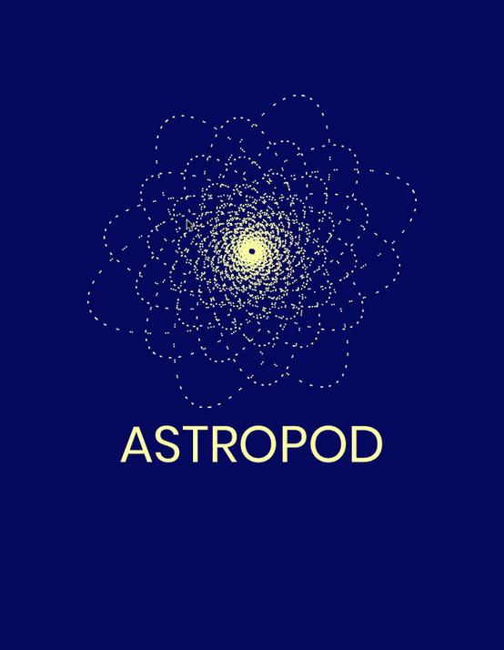 Responsive logo generator // Inspired by the night sky