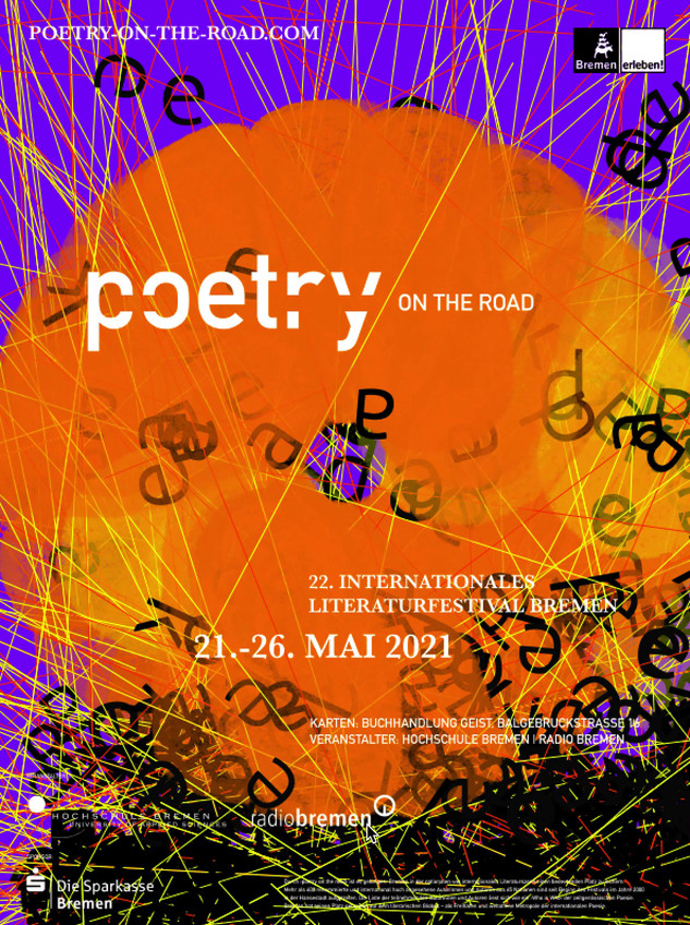 Dynamic Poster to Poetry Festival 2021