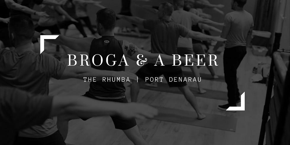 Broga & a Beer (1)