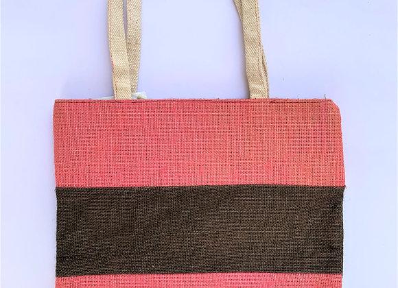 Double Coloured Stripes Bag