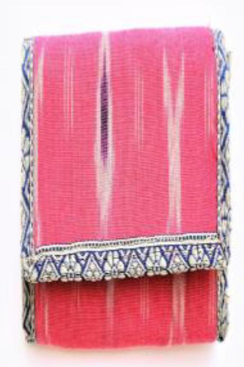 Jute Wallet with Kalamkari