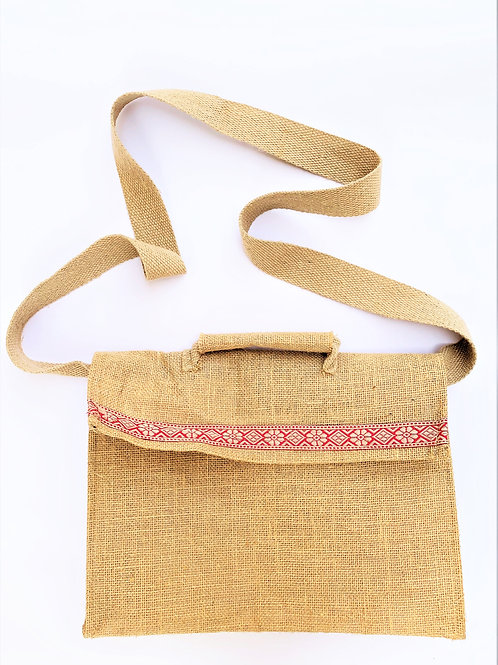 Sling Bag for Laptop with Border + Scratch