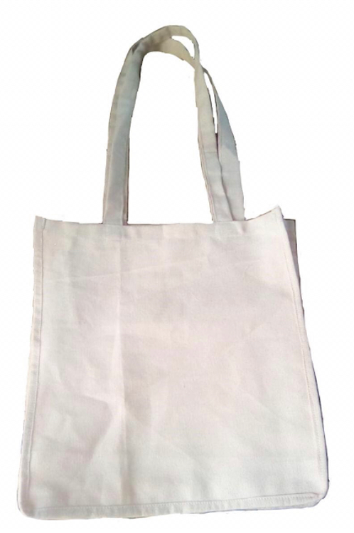 Canvas Cotton Bag with Long Handles