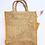 Thumbnail: Kolkata Jute Bag with Water Pouch + Zip