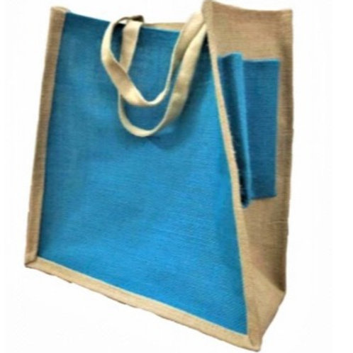 Jute Bag with Water Pouch