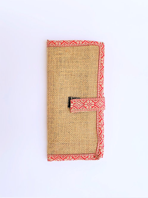 Card Organizer with Phone Pouch