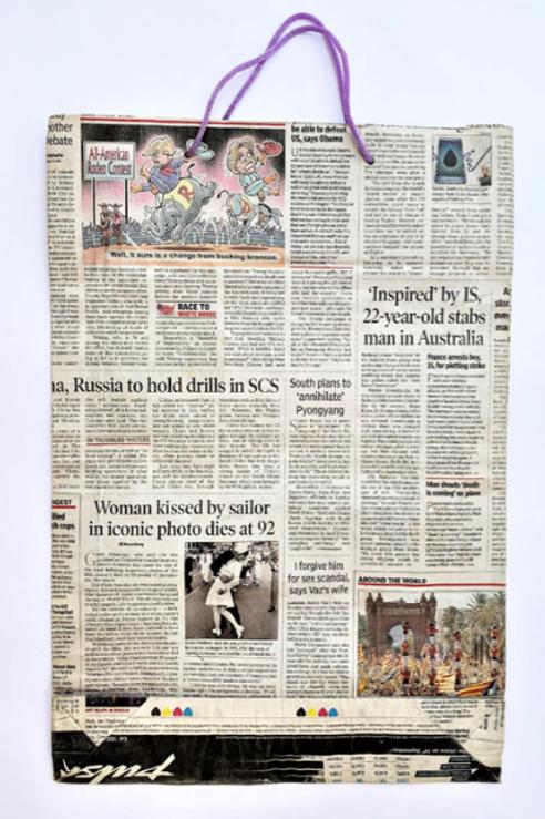 Newspaper Bag - Large