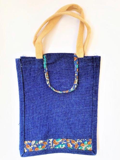 Ink Thamboolam Bag with Kalamkari + Scratch