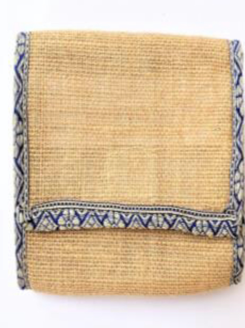 Jute Wallet with Phone Pouch