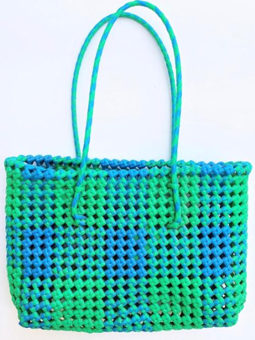 Hand Woven Green Basket