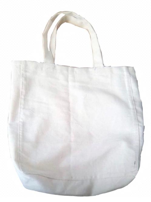 Cotton Bag with Jute Handles