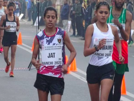 Bhawna Jat - From walking barefoot to walking for India