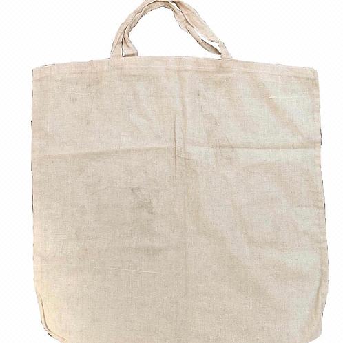 Canvas Cotton Bag with Short Handles