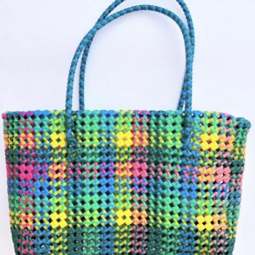 Hand Woven Multicolour Basket