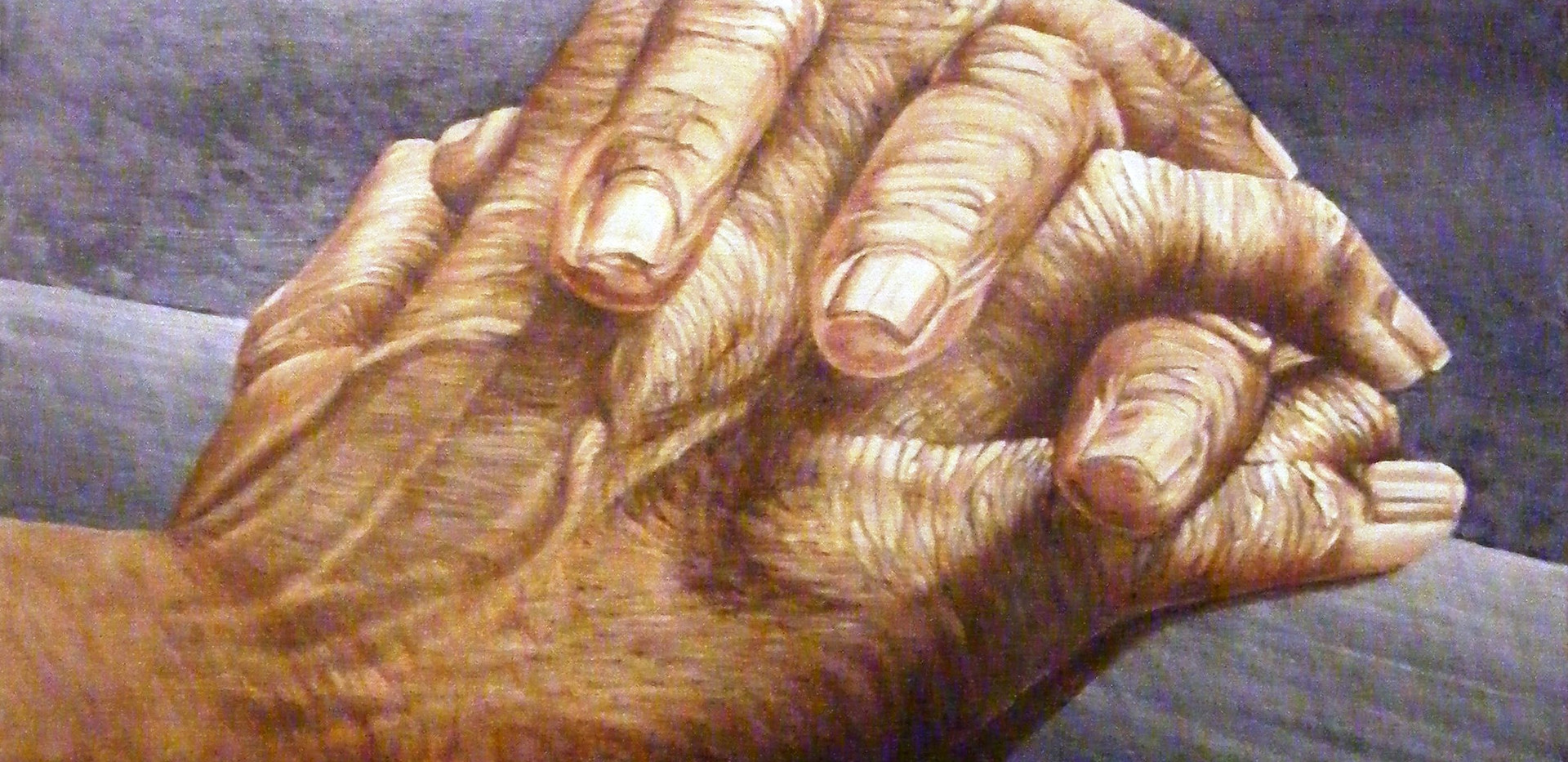 'Artist's hands' in oils