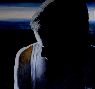 'Born' canvas