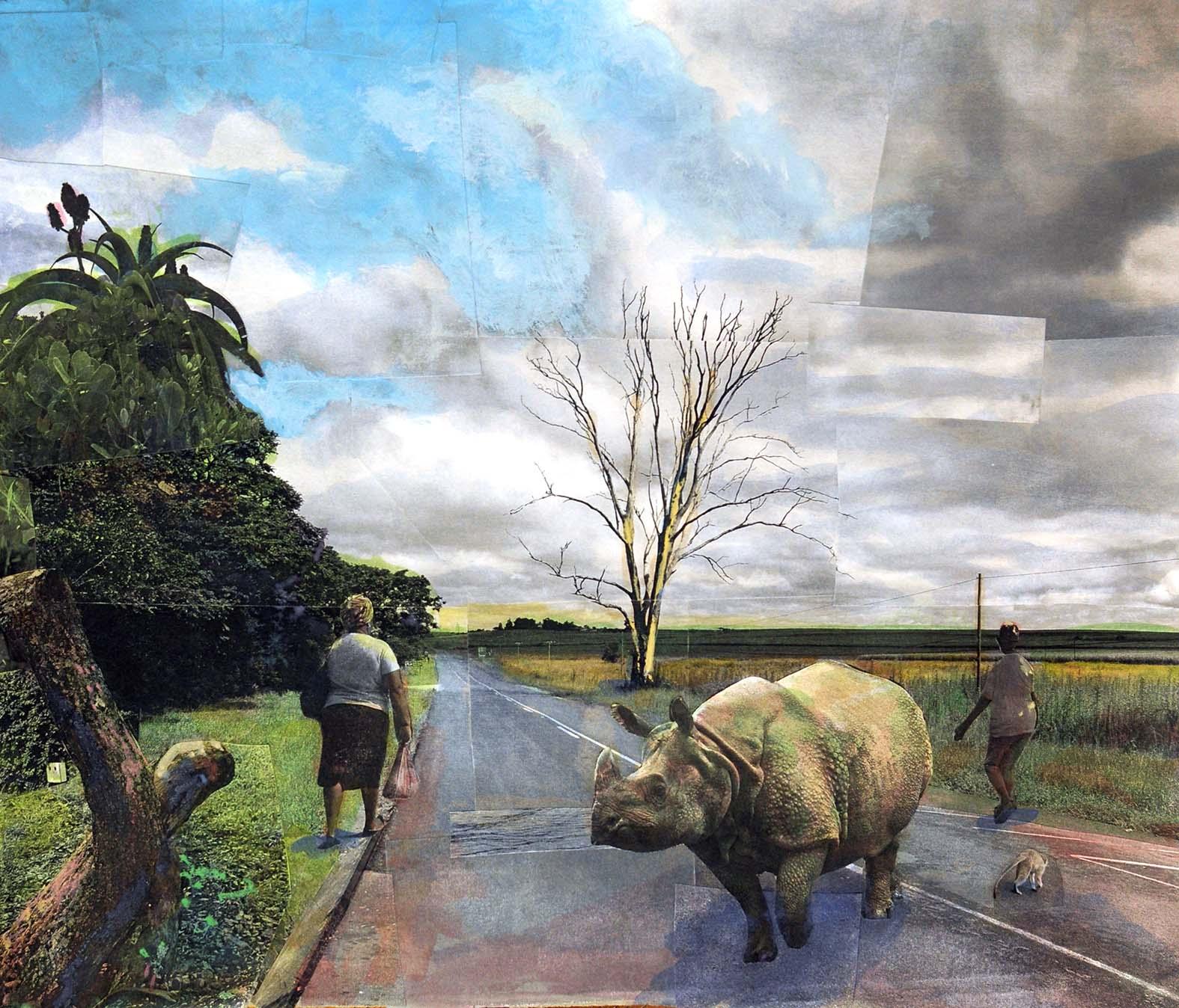 Dead Eucalyptus