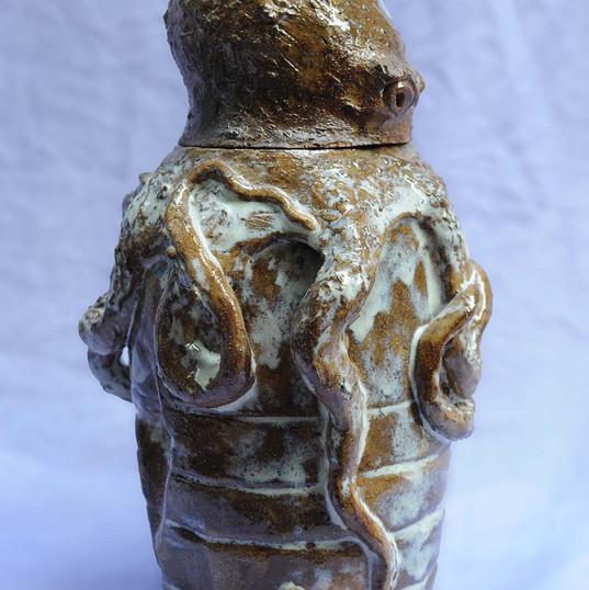 Octopus urn
