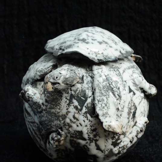 Turtle urn
