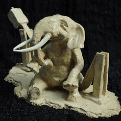Elephant pillbox