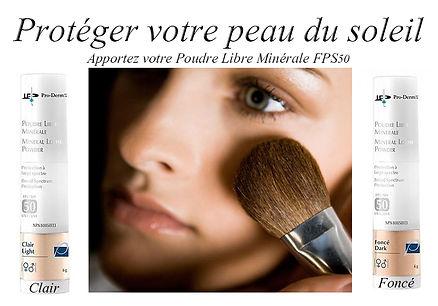 Poudre libre Minérale FPS50 pour protéger votre peau