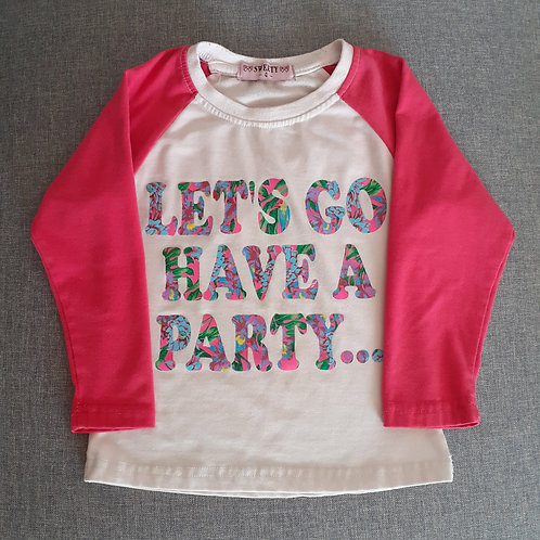 T-shirt manches longues - Sweety - 4 Ans