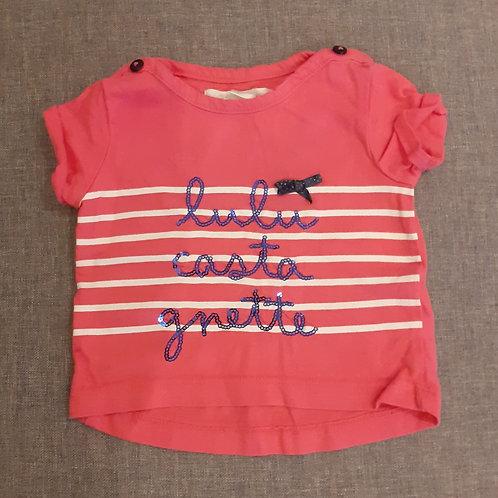 T-shirt manches courtes - Lulu Castagnette - 3 Mois