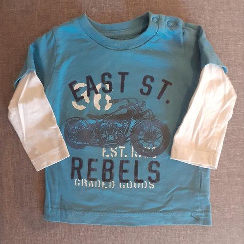 T-shirt manches longues - H&M- 6 mois
