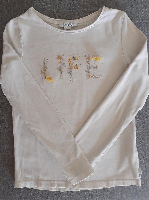 T-shirt manches longues - Okaïdi - 6 Ans