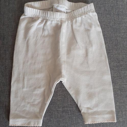 Legging blanc - Baby Club - 01 Mois