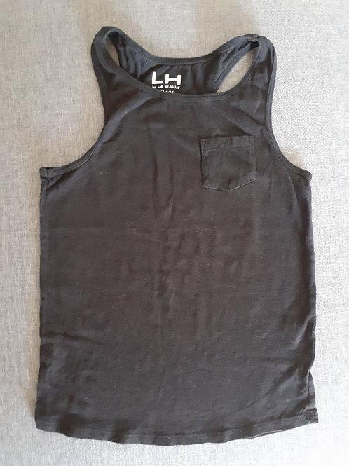 Débardeur uni noir - La Halle - 10 Ans