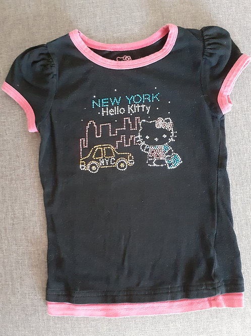 T-shirt manches courtes - Hello Kitty - 6 Ans
