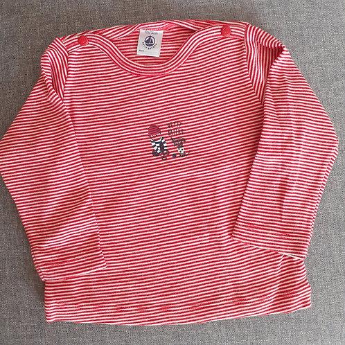 T-shirt manches longues - Petit Bateau - 12 Mois