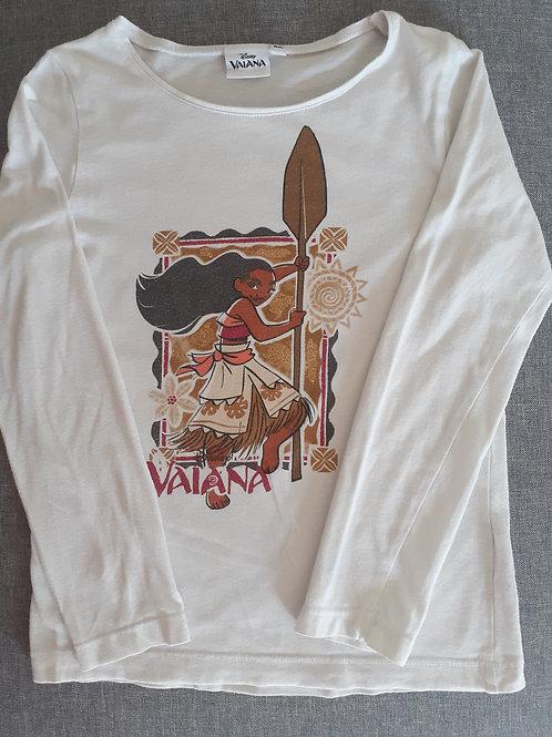 T-shirt manches longues - Vaiana - 8 Ans