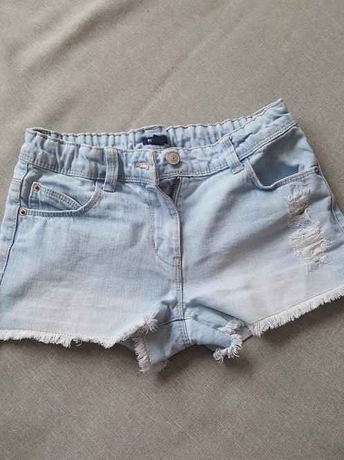 Short en jean effet déchiré - Kiabi - 10 Ans