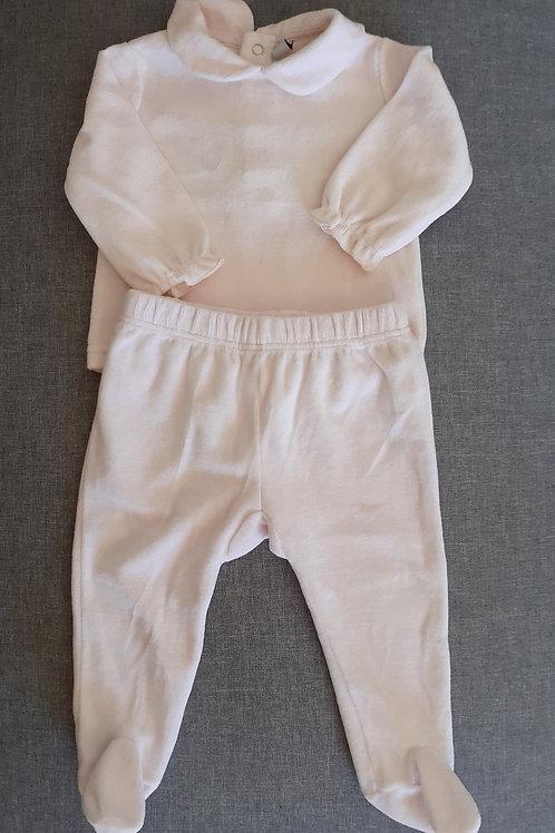 Pyjama velours  - 06 Mois