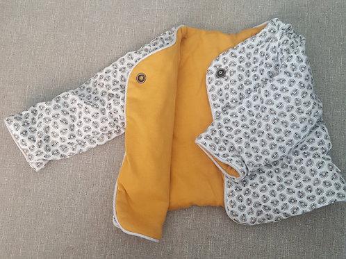 Veste molletonnée - Obaidi - 3 mois