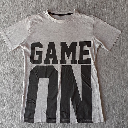 "T-shirt ""Game On"" - 14 Ans"