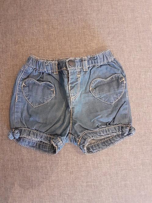 Short en jean - In Extenso - 09 Mois