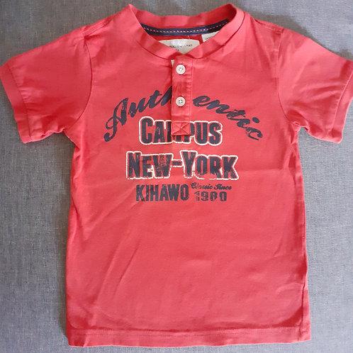 T-shirt orange - La Redoute - 04 Ans