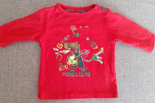 T-shirt manches longues - La Compagnie des Petits -  03 Mois