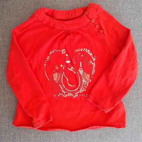 T-shirt manches longues - Verbaudet - 4 Ans