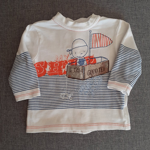 T-shirt manches longues - Orchestra - 03 Mois