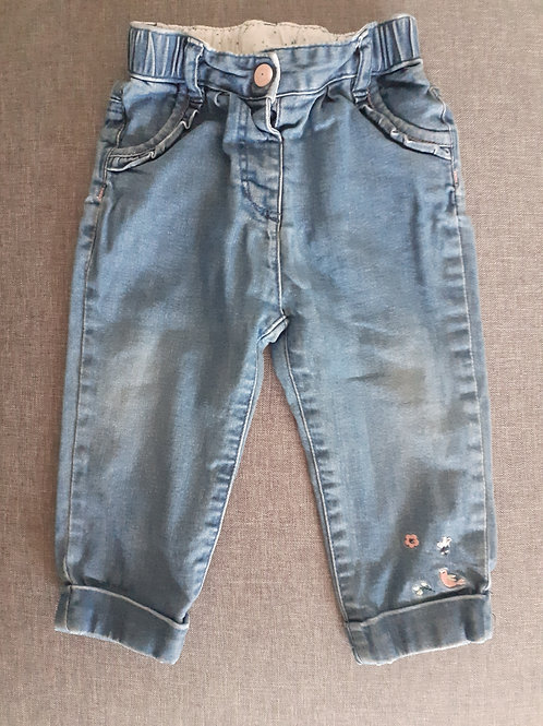 Pantalon jean bleu - Sergent Major - 18 mois