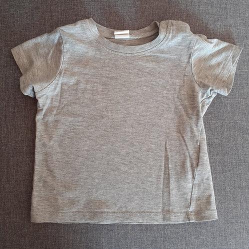 T-shirt manches courtes gris - HetM - 12 Mois