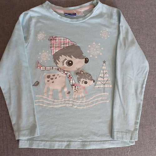 T-shirt manches longues - Lupilu - 2 Ans