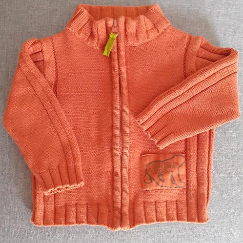 Gilet Orange - 12 Mois